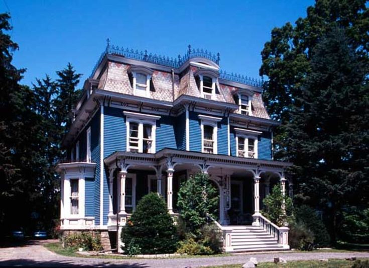 The Mansard Roof and Second Empire Style | Old House Restoration, Products & Decorating