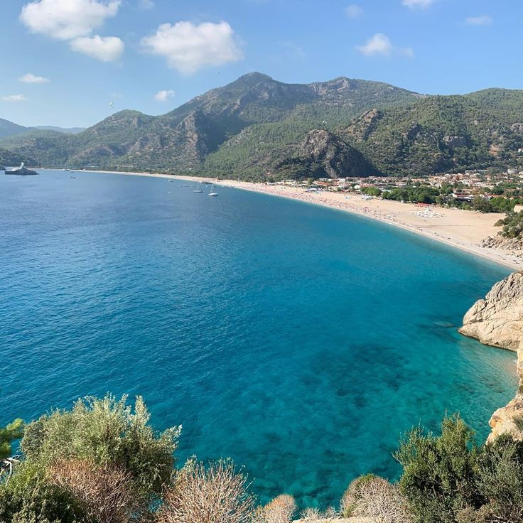 Olüdeniz is one of those places that seem taken out of paradise with beautiful …