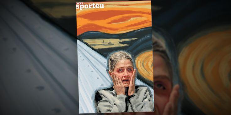 """Norska tidningens etta: Therese Johaug som """"Skriet"""" - Resumé"""