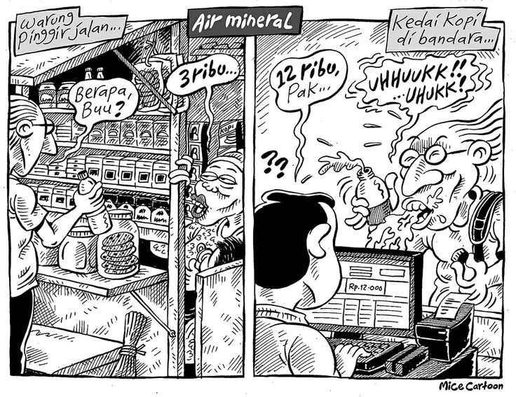 Mice Cartoon, Kompas 26 Mei 2014: Air Mineral