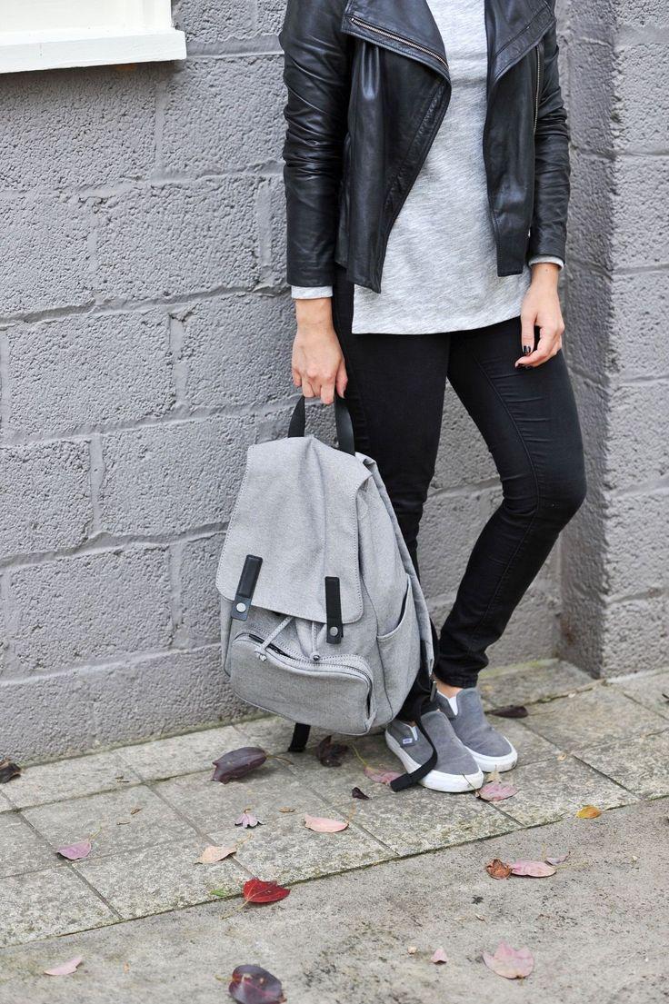 Make carrying your summer essentials a breeze with a stylish backpack! Try a canvas style on for size!