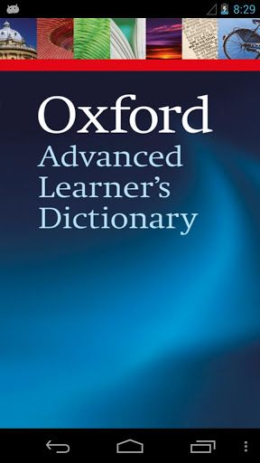 Oxford Advanced Learner's 8 v3.6.17   Oxford Advanced Learner's 8 v3.6.17Requirements:2.2 Overview:Improve your English language skills with the official Oxford Advanced Learners Dictionary. Understand what words mean. Learn how to say them. Know how to use them.  The Oxford Advanced Learners Dictionary (OALD) is a world best-seller. It is now available as an app with the full A-Z dictionary real voice (not text to speech) audio and My View to customize your screen. It has been developed by…