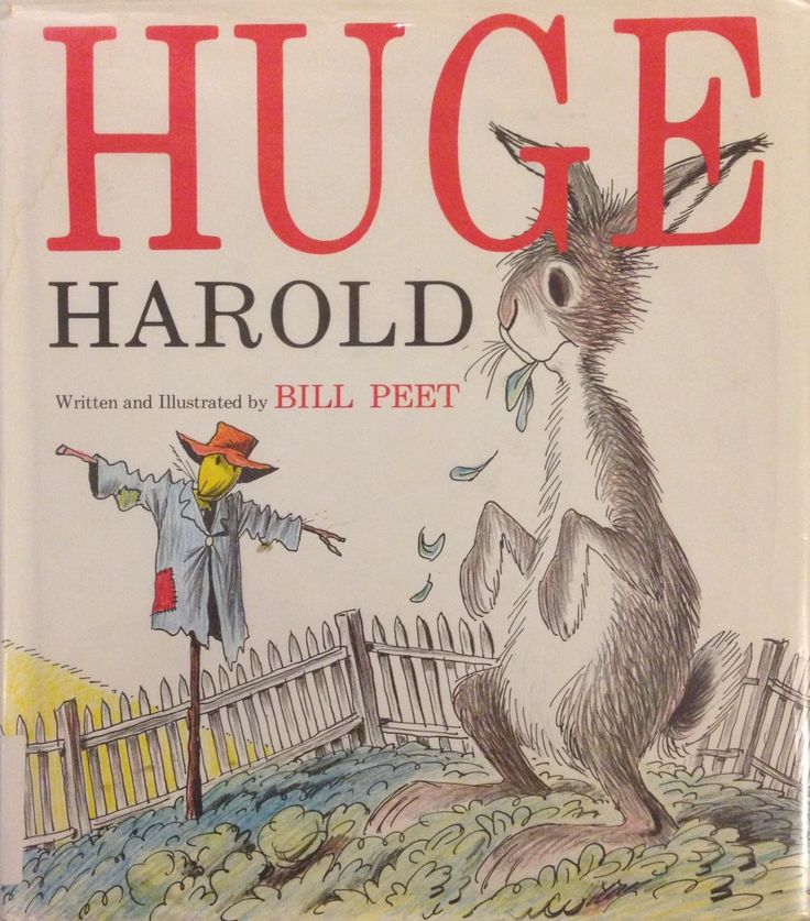 Chronicling Bill Peet: Huge Harold
