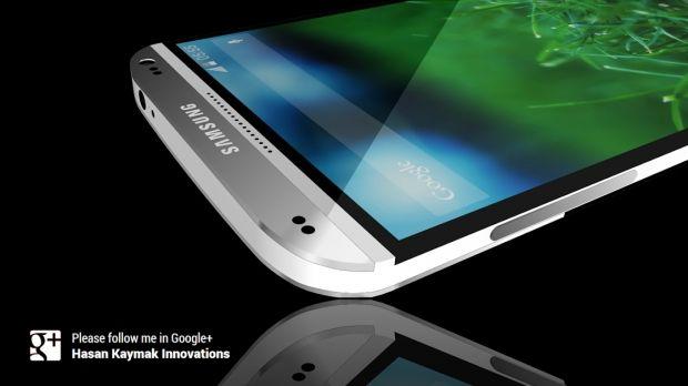 Konsep Samsung Galaxy S5 Bermetal By Hassan Kaymak - http://mabokgadget.com/konsep-samsung-galaxy-s5-bermetal-hassan-kaymak/