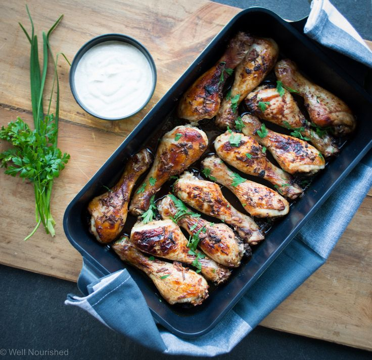 Drummers - These baked drumsticks are great for the school lunchbox and kids who like a 'one handed' lunch or snack. They're budget friendly (even organic drumsticks are quite affordable), super quick to make and something I'm sure the kids will love. 3 flavour variations. Suitable for egg-free, grain-free, dairy-free, nut-free.