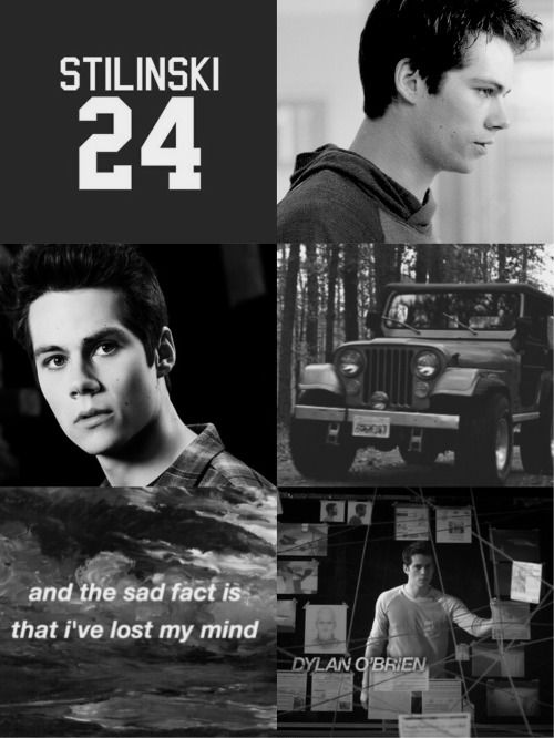 teen wolf cast collage | Dylan O'Brien/Stiles Stilinski lockscreen