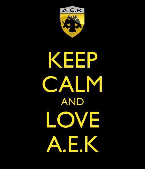 AEK keep calm