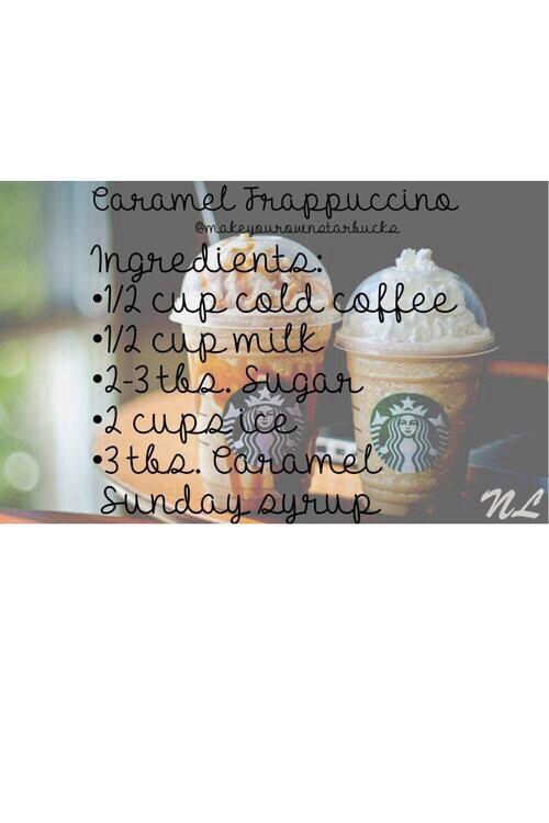 Starbucks Caramel Frappè