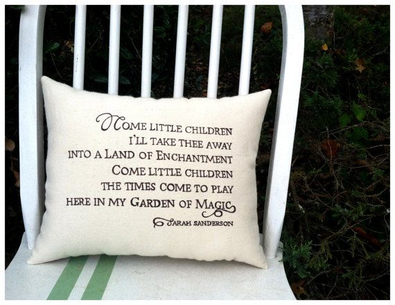 Hocus Pocus Halloween Pillow Sarah's song by ThreeYellowFinches