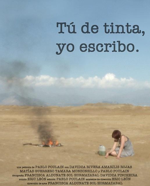 """""""Tú de tinta, yo escribo es mi primer largometraje, y lo pueden ver acá: http://www.cinepata.com/peliculas/tu-de-tinta-yo-escribo/"""