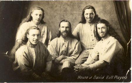 The famous House of David baseball team was formed by a religious commune from Benton Harbor, Michigan. Over the years the House of David was one of the biggest draws in barnstorming baseball.