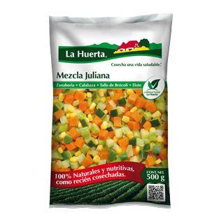 La Huerta - Sopa de Espinaca y Mezcla Juliana