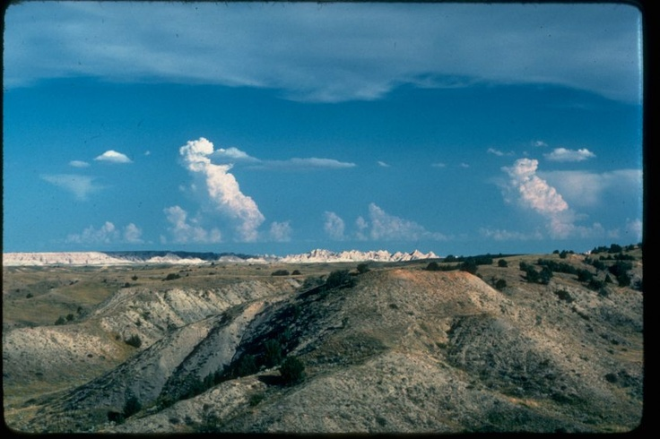 Badlands National Park, SD, home of Mt. Rushmore