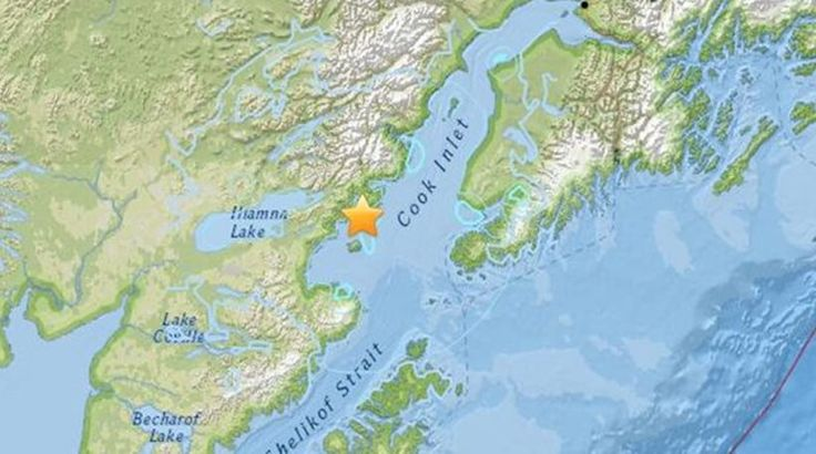 Σεισμός 6,2 Ρίχτερ στη νοτιοδυτική Αλάσκα