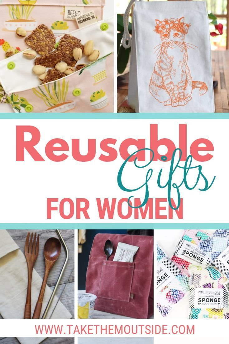 Make a statement and start gifting reusable and eco-conscious items for the home. These are perfect gifts ideas for women, for your coworkers, ...