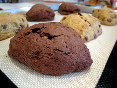 BBD#18: Quadruple Chocolate Scones & Chocolate Chip Butterscotch Scones | The Spiced Life