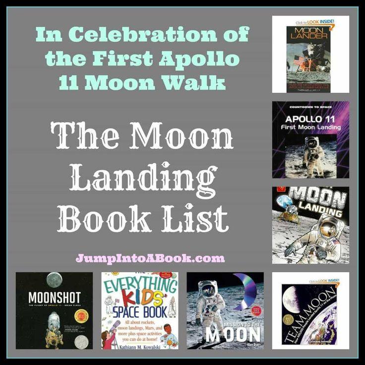 The Moon Landing Book List