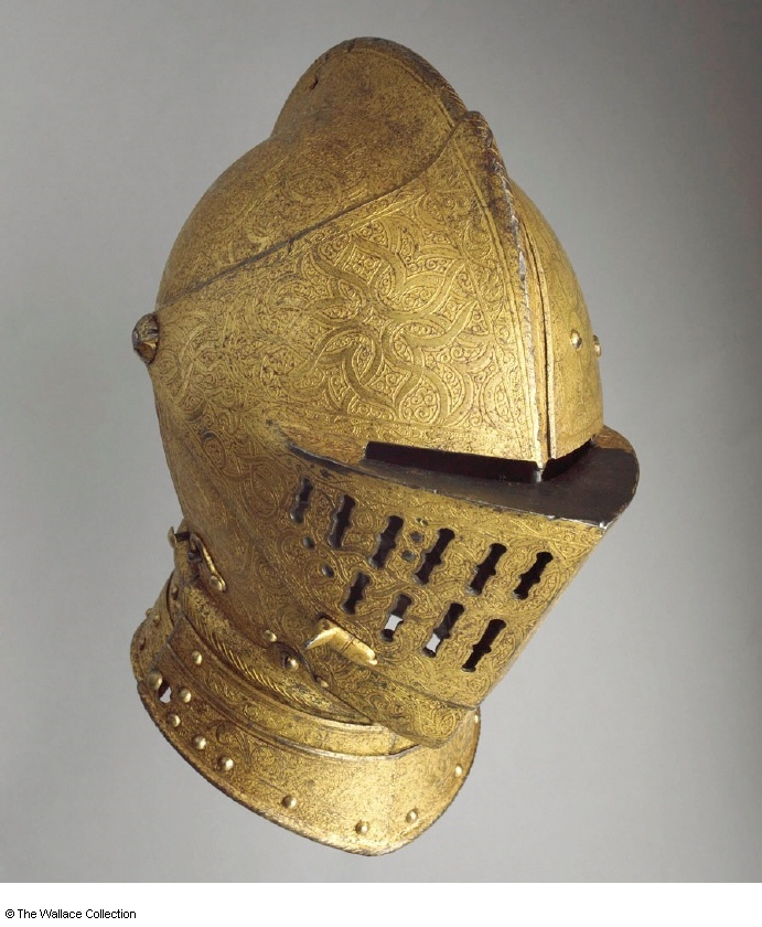 German helmet c. 1555