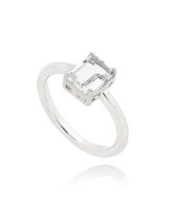 anel rodio com pedra cristal semi joias online