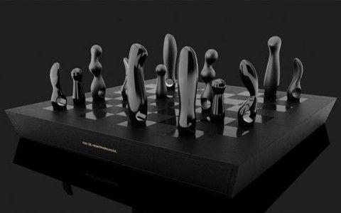 Chess Set by Kiki de Montparnasse | Ozarts Etc