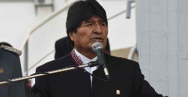 El presidente boliviano se solidarizó con México ante las acciones de Trump.