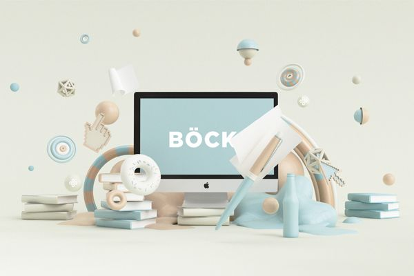 BÖCK by Peter Tarka, via Behance objects