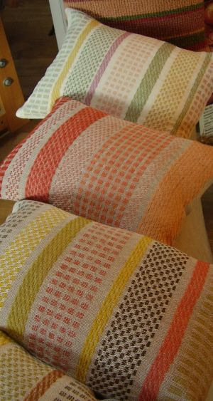 personalised cushions to order from Anna Champeney Estudio Textil