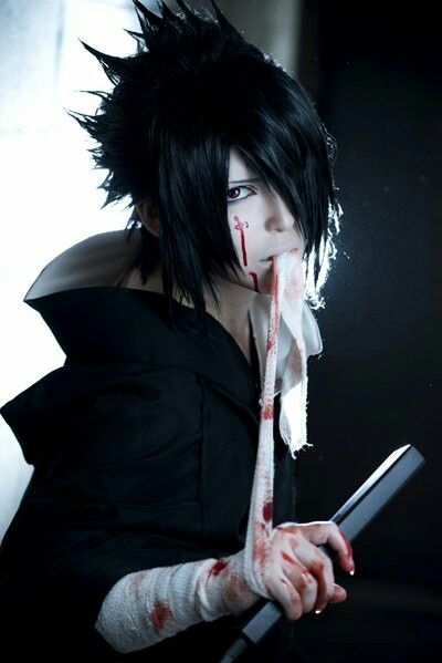 FLAWLESS sasuke cosplay! ❤️