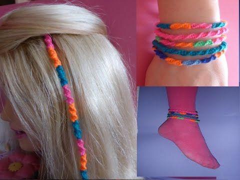 DIY Haarsträhne SCHNELL und EINFACH knüpfen, Haardesign, Hair EXTENSIONS…