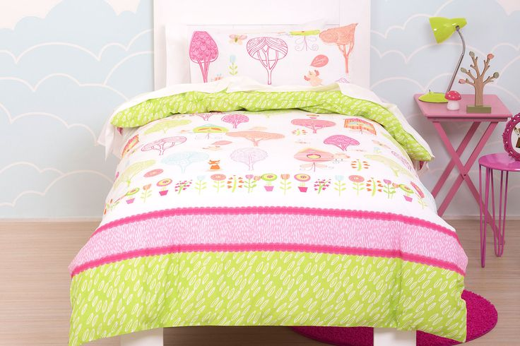 Tree Tops Duvet Cover Set - Squiggles