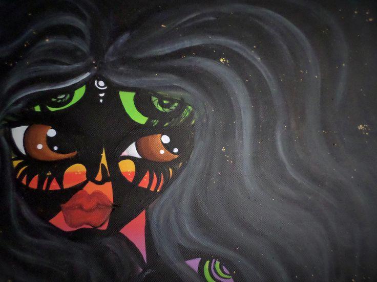 Pensieri oscuri, multi colors, long hair....big eyes