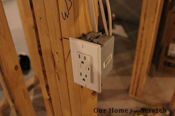 1000 ideas about electrical outlets on pinterest switch for How to wire a new room addition