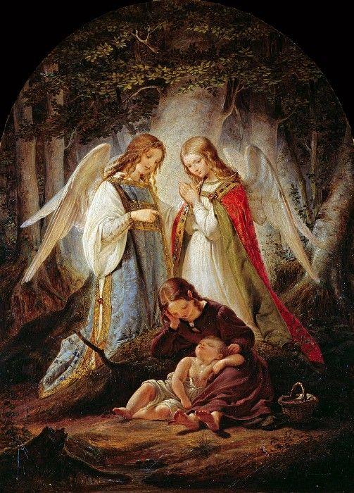 Ангелы-хранители. Юлиус Гюбнер