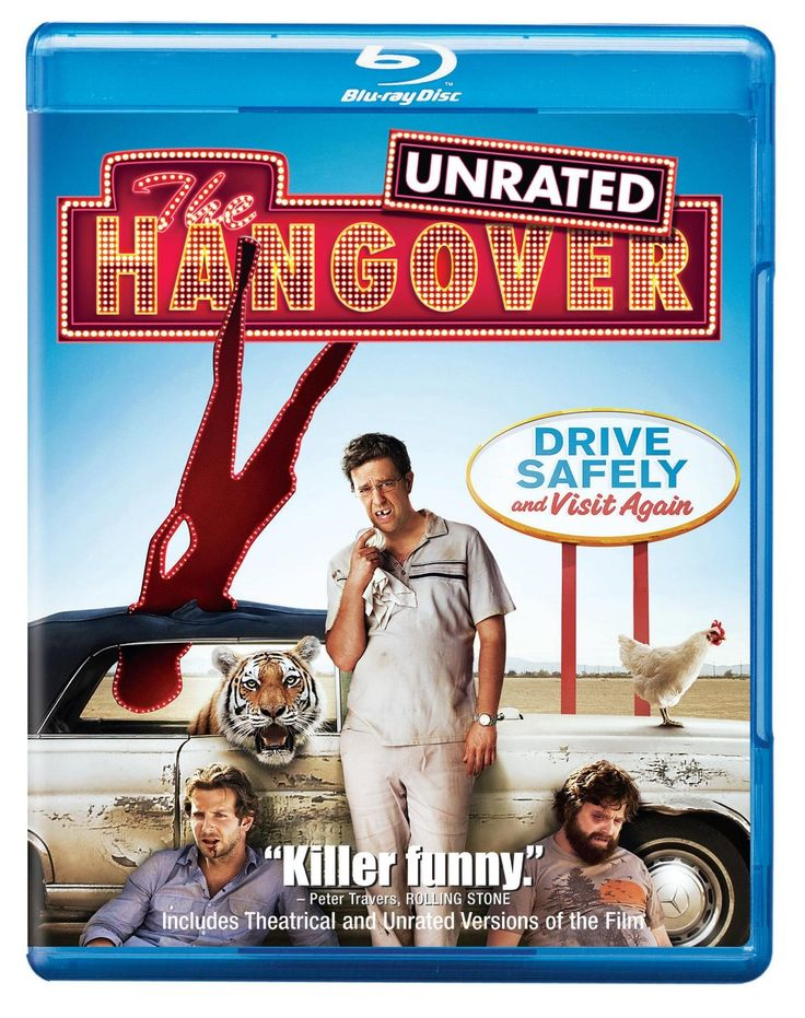 The Hangover is one of the funniest movies Ive ever seen in a long time.  Bradley Cooper, Ed Helms and Zach Galifianakis portray an odd friendship that just works better than anything Ive seen in a long time.