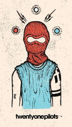 Image result for twenty one pilots art