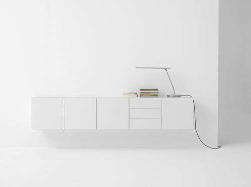 Contemporary living room wall unit VISION ELEMENTS by Karel Boonzaaijer & Pierre Mazairac pastoe