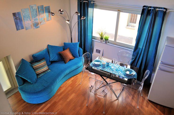 DIVANO TURCHESE turquoise sofa blue