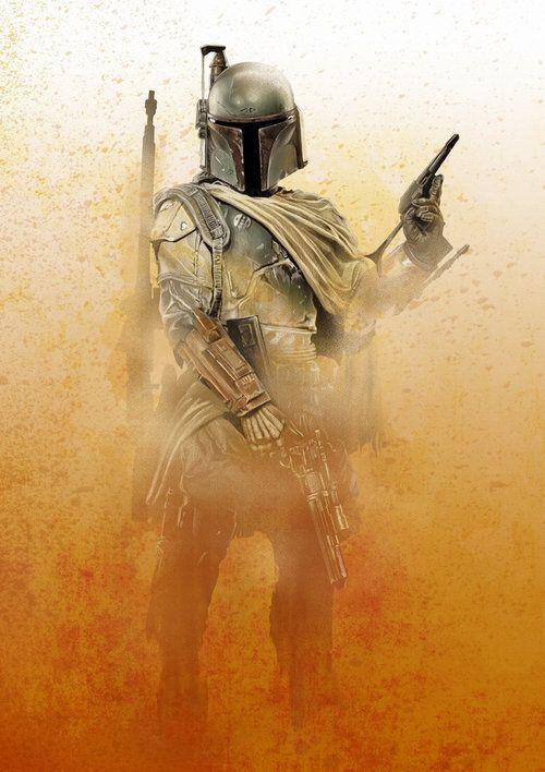Star Wars - Boba Fett by Craig Deakes *