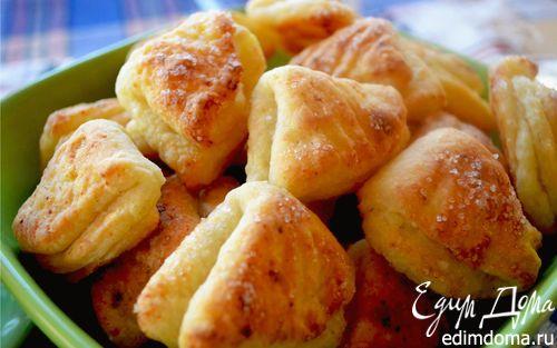 Творожное печенье «Гусиные лапки»   Кулинарные рецепты от «Едим дома!»