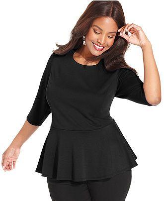 55 best plus size fashion images on pinterest | blouses, big girl
