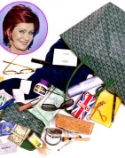 Sharon Osbourne, What's In My Bag.