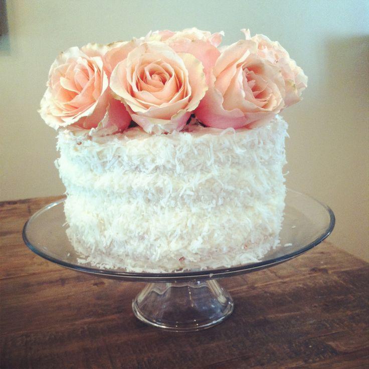 Floral Birthday Cake {by Natalie Evenson}