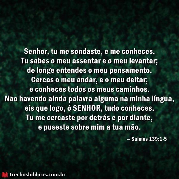 Salmos 139:1-5
