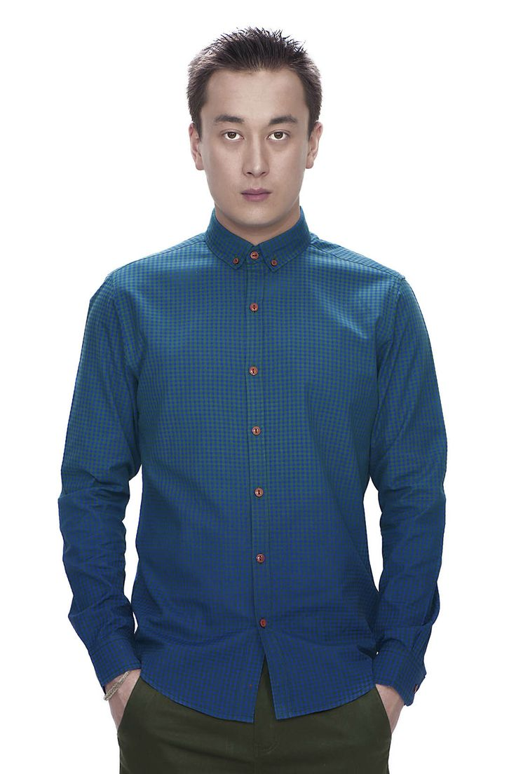 Dip Dyed Gingham Shirt SS/14
