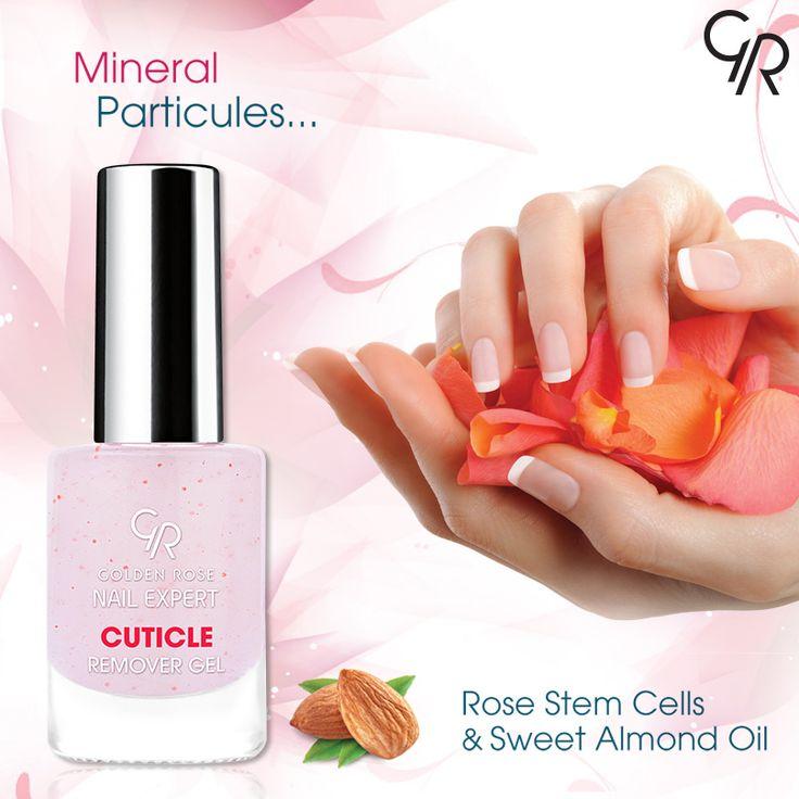 İçeriğindeki mineral partikülleri sayesinde tırnak diplerindeki ölü deriyi hızlı ve nazikçe gideren Cuticle Remover Gel, tırnaklarında ve tırnak etlerinde pürüzsüz bir görünüm sağlar. http://www.goldenrosestore.com.tr/cuticle_remover_gel.html
