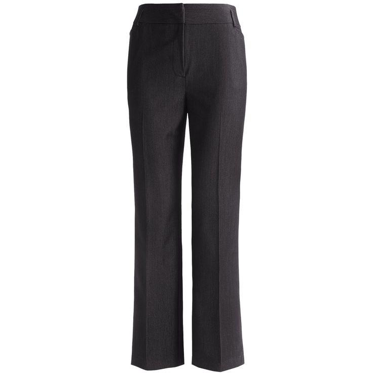 Grey plus size dress pants
