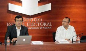 Presentan estudio sobre cultura política en Oaxaca