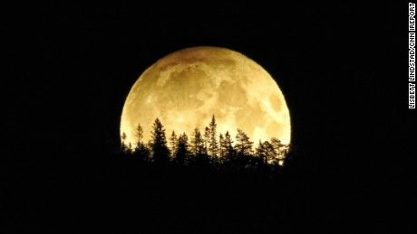 Harvest moon...Americans may have missed out on the last lunar eclipse of 2016 this weekend.