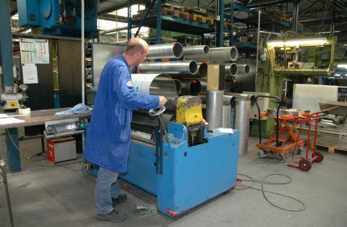 Walsen van plaatmateriaal - Brink Industrial Hoogeveen