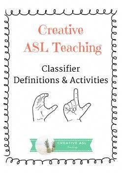 asl classifiers for practice and review great for the american sign rh pinterest com